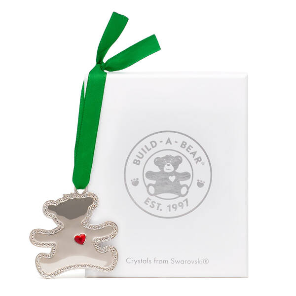 Online Exclusive Build-A-Bear Ornament Decorated with Swarovski® crystals - Build-A-Bear Workshop®