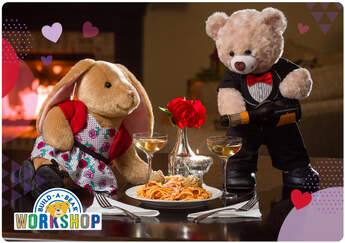 Valentine's Day Date Night E-Gift Card - Build-A-Bear Workshop®