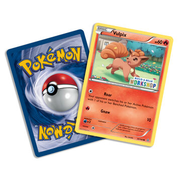 Build-A-Bear Workshop Exclusive Pokémon Vulpix TCG Card, , hi-res