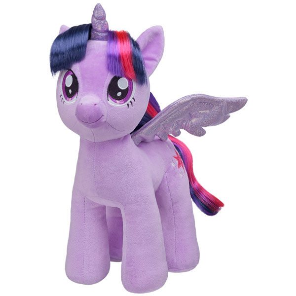 Experience the magic of friendship with this sweet purple pony! Personalise her with clothing and accessories to make the perfect unique gift. MY LITTLE PONY and all related characters are trademarks of Hasbro and are used with permission.  2013 Hasbro. All Right Reserved.