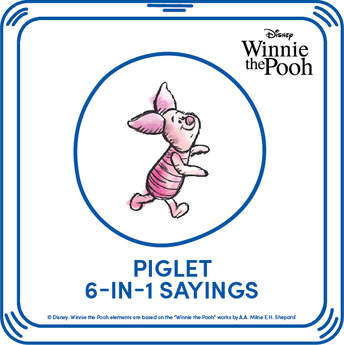 Piglet 6-in-1 Phrases - Build-A-Bear Workshop®