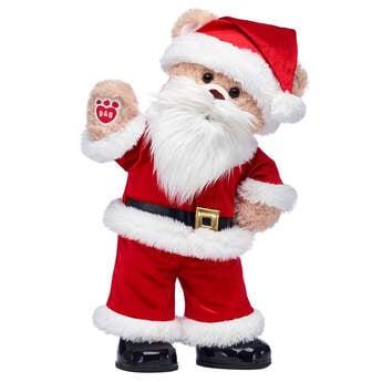 Happy Hugs Teddy Santa Gift Set, , hi-res