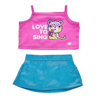 Kabu™ Love to Sing Outfit 2 pc. - Build-A-Bear Workshop®