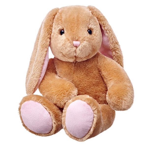bunny stuffed animal sitting