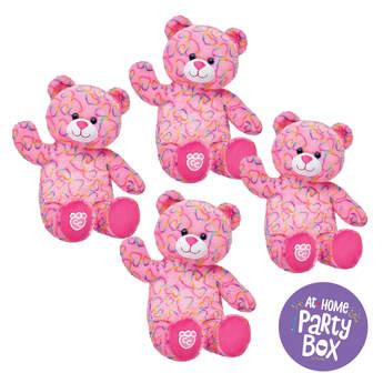 Rainbow Hearts Furry Friends, , hi-res
