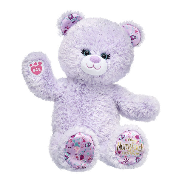 Disney purple nutcracker teddy bear