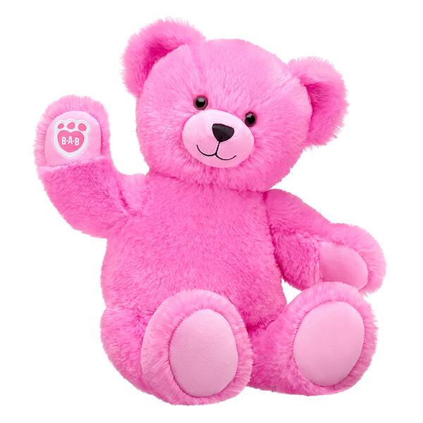 Online Exclusive Fluffy Pink Bear - Build-A-Bear Workshop®