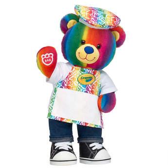 Crayola Teddy Apron Gift Set, , hi-res