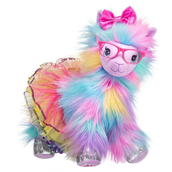 Furbulous Rainbow Llama Gift Set, , hi-res