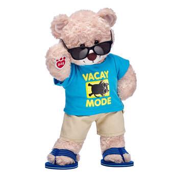 Online Exclusive Happy Hugs Teddy Vacay Mode Gift Set, , hi-res