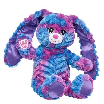 Celebrate warm springtime memories with Spring Lilac Bunny! This perky stuffed bunny has an adorable smile you're sure to love! Make your own Easter fun at Build-A-Bear Workshop! Customize your furry friend with unique clothing & accessories to make the perfect gift.