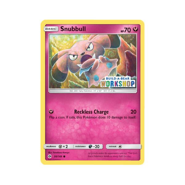 Build-A-Bear Workshop Exclusive Snubbull Pokémon TCG Card - Build-A-Bear Workshop®