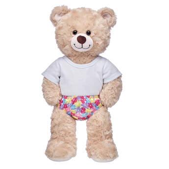 Floral Satin Panties - Build-A-Bear Workshop®