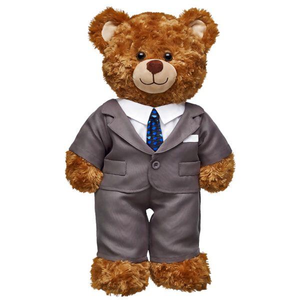 Gray Business Suit 2 pc., , hi-res