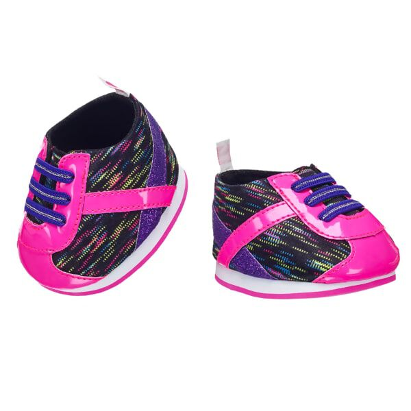 Pink & Black Athletic Shoes, , hi-res