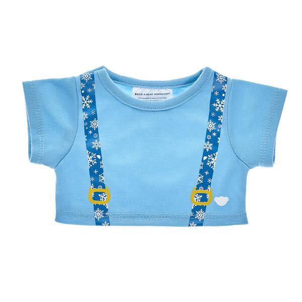 Snowflake Suspenders T-Shirt - Build-A-Bear Workshop®