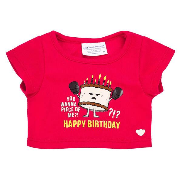 Online Exclusive Birthday Cake T-Shirt - Build-A-Bear Workshop®