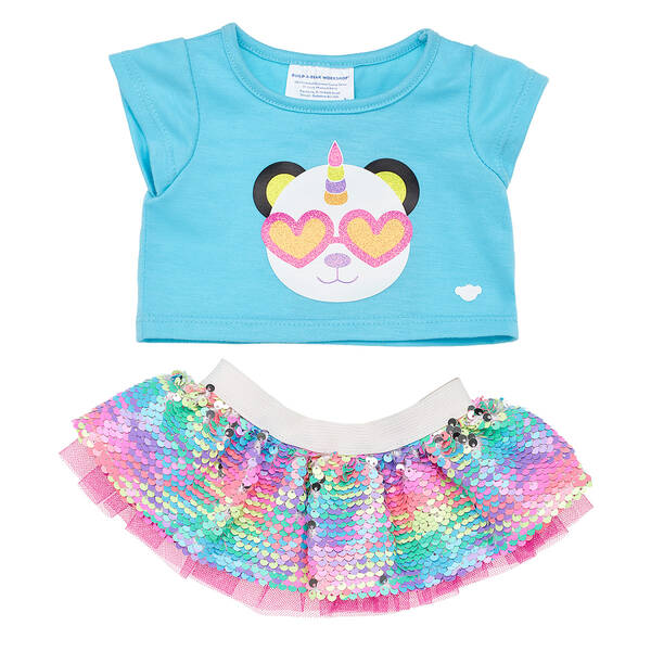 Rainbow Pandacorn Outfit - Build-A-Bear Workshop®