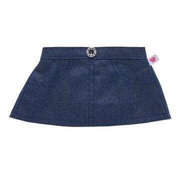 Sparkly Denim Skirt, , hi-res