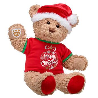 Timeless Teddy Merry Christmas Gift Set, , hi-res