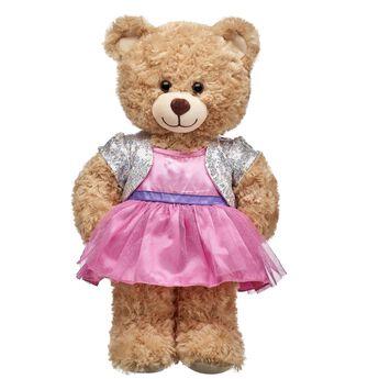 Pink & Silver 2-Fer Dress, , hi-res