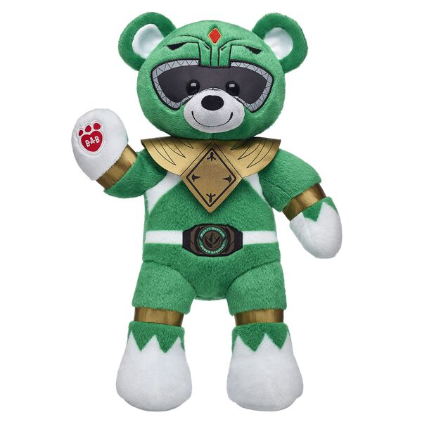 Power Rangers™ Green Ranger Bear, , hi-res