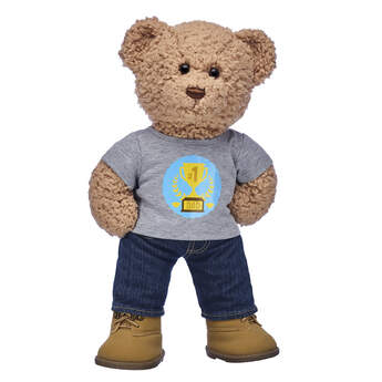 Timeless Teddy #1 Dad Gift Set, , hi-res