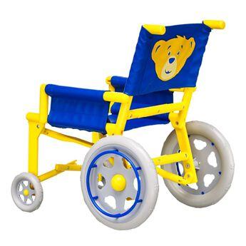teddy bear wheelchair accessory back view