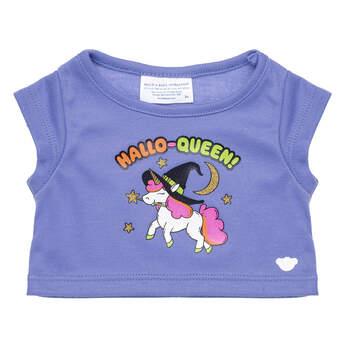Online Exclusive Hallo-Queen Unicorn T-Shirt - Build-A-Bear Workshop®