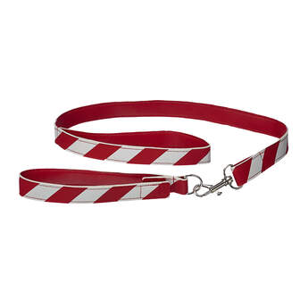Take your furry friend for a walk this winter with this red and white leash and collar set! This cute two-piece set looks just like a candy cane, making it the PAWfect choice for walking your pet this Christmas season!