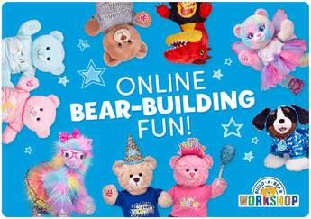 Bear Building Fun E-Gift Card - Build-A-Bear Workshop®
