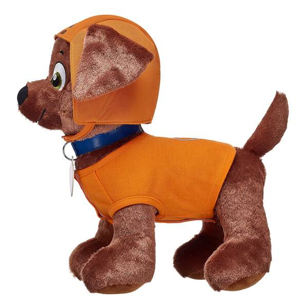 This orange two piece set has everything the team's water rescue pup needs! © 2017 Spin Master PAW Productions Inc. All Rights Reserved. PAW Patrol and all related titles, logos and characters are trademarks of Spin Master Ltd. Nickelodeon and all related titles and logos are trademarks of Viacom International Inc.