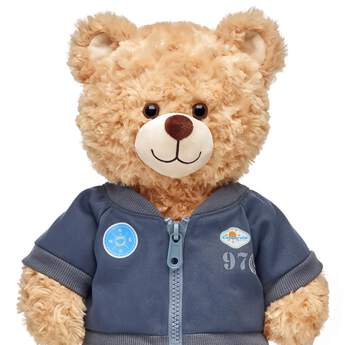 Grey Bomber Jacket - Build-A-Bear Workshop®
