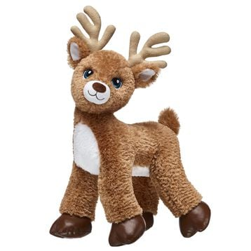 All of Santa's reindeer are at Build-A-Bear Workshop! Make your own reindeer stuffed animal and dress it in the outfit of your choice.