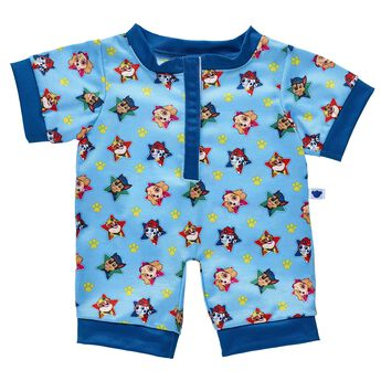 Call the PAW Patrol - it's time for sweet dreams! This adorable blue sleeper features an all-over pattern of your favourite PAW Patrol pups. No matter how big the adventure, your furry friend is sure to get a good night's sleep with this cute sleeper outfit. © 2017 Spin Master PAW Productions Inc. All Rights Reserved. PAW Patrol and all related titles, logos and characters are trademarks of Spin Master Ltd. Nickelodeon and all related titles and logos are trademarks of Viacom International Inc.