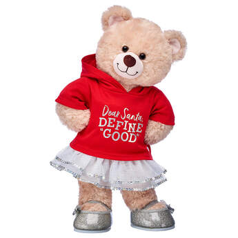 Happy Hugs Teddy Dear Santa Gift Set, , hi-res