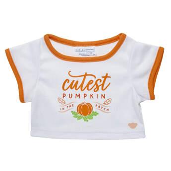 Online Exclusive Cutest Pumpkin in the Patch T-Shirt - Build-A-Bear Workshop®