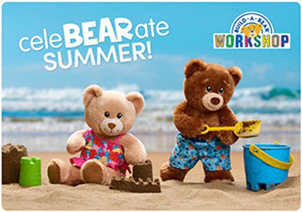 CeleBEARate Summer E-Gift Card, , hi-res