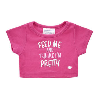 Online Exclusive Feed Me & Tell Me I'm Pretty T-Shirt - Build-A-Bear Workshop®