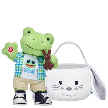 Spring Green Frog Easter Basket Gift Set, , hi-res