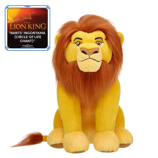 """Online Exclusive Disney The Lion King Mufasa with """"Nants' Ingonyama (Circle of Life Chant)"""" Song, , hi-res"""