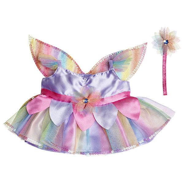 Rainbow Fairy Costume 2 pc., , hi-res