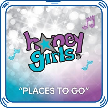"Add Risa's ""Places to Go"" Sound to any furry friend! Risa's song  in.œPlaces to Go in. is about following your dreams. Hear this Honey Girls song with every hug when you add it to any stuffed animal."