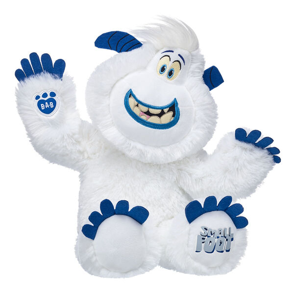 smallfoot migo yeti stuffed animal sitting