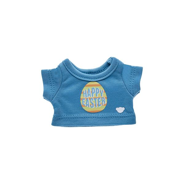 Your Build-A-Bear Buddies will look eggs-tra cute this spring in this adorable Happy Easter T-Shirt! Build-A-Bear Workshop offers hundreds of unique stuffed animal clothing & accessory options you won't find anywhere else. Outfit a furry friend online to make the perfect gift!