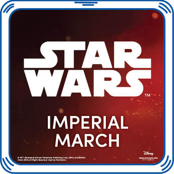 Star Wars fans unite! Add the Imperial March song to any furry friend for some intense fun.  & ™ Lucasfilm Ltd.