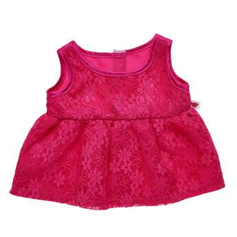 Pink Lace Dress - Build-A-Bear Workshop®