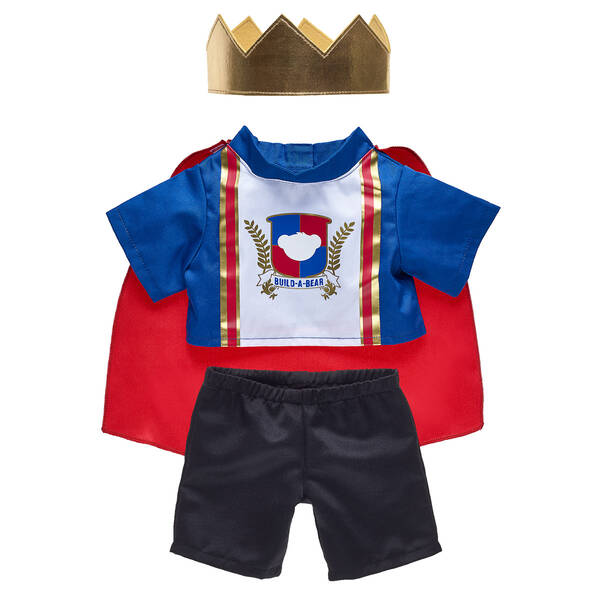 King Costume 2 pc. - Build-A-Bear Workshop®
