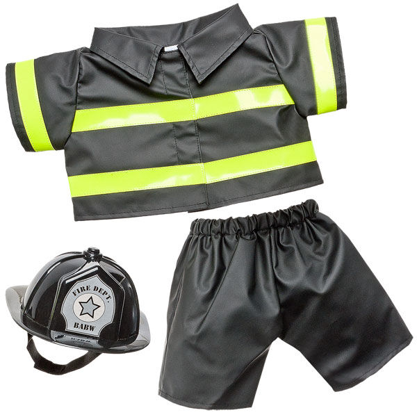 Firefighter Costume 3 pc., , hi-res