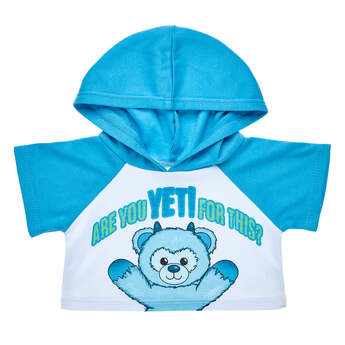 Online Exclusive Snow Monster Yeti Hoodie - Build-A-Bear Workshop®